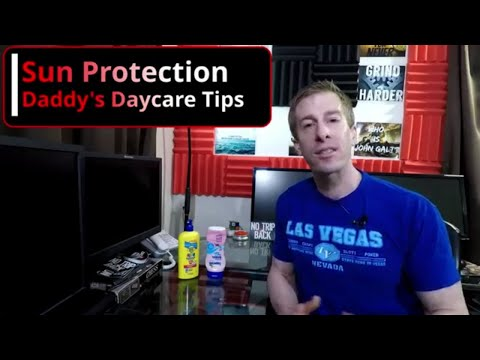 Sun Protection For Children Daddy's Daycare Tips - Plano TX uploaded to TLCSchools.com Texas