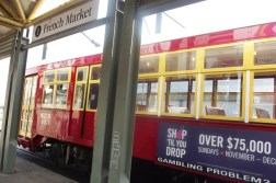 So easy to get to/from the French Quarter area from the Hilton Riverside. The Riverfront Trolley has all of 8 stops, starting from the Cruise Port and ending at the French Market.