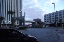 Front Entrance at the Hilton New Orleans Riverside