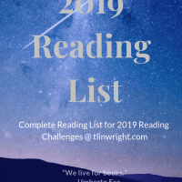 2019 Reading Challenges Reading List