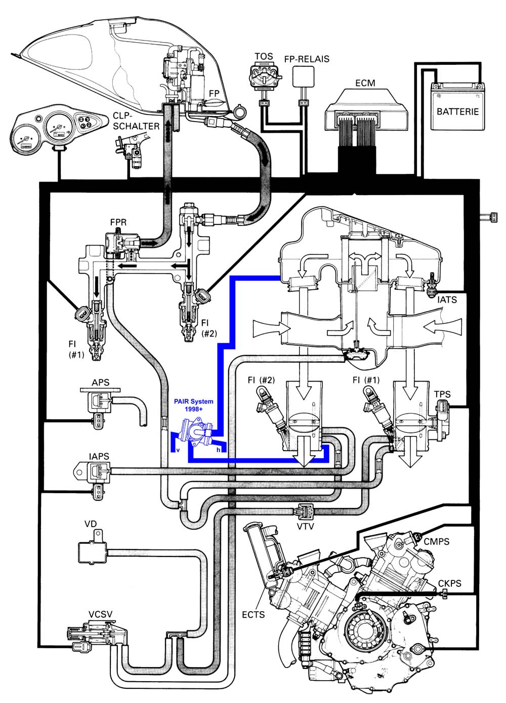 hight resolution of tl1000r wiring diagram