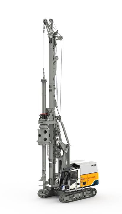 Liebherr introduces 'first battery-powered drilling rig in