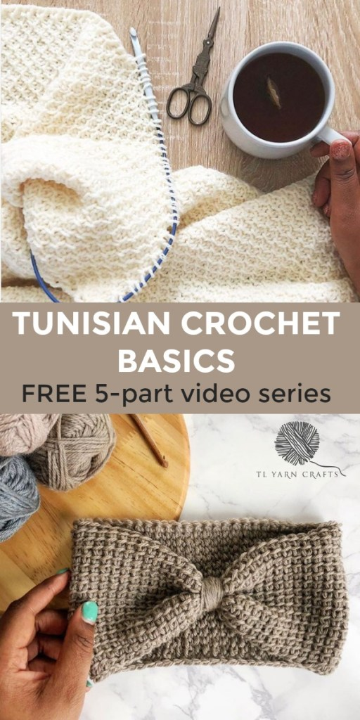 Learn the absolute basics of Tunisian crochet fast in this easy to follow video series from TL Yarn Crafts. You'll get the basics, learn to change color, create your first project, and learn beautiful stitches. Even if you haven't crocheted in years, you'll love how easy it is to learn Tunisian crochet! | TLYCBlog.com