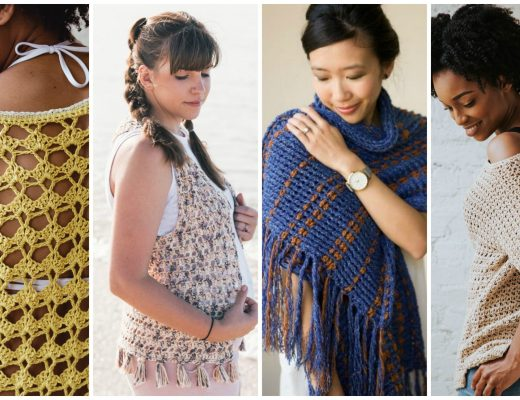 Enjoy your summer with these fun and easy crochet patterns. I've compiled a list of some of my favorite warm-weather patterns from wearable to amigurumi and baby blankets. Try your hand at a vest, swimsuit coverup, wrap, shawl, or tee. Find more patterns and roundups at TLYCBlog.com!