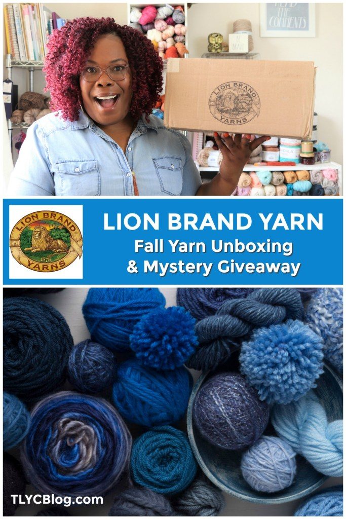 Lion Brand Fall Yarn Unboxing and Giveaway, including Go For Faux, Merino Camel, Mako Cotton, Basic Stitch Anti Pilling, and Basic Stitch Premium | TLYCBlog.com