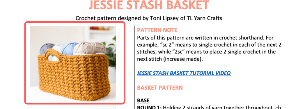 How to read crochet patterns for beginners. Learn abbreviations, punctuation, and troubleshooting problems. | TLYCBlog.com