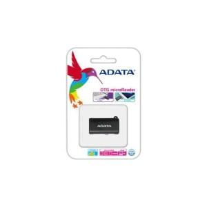 Czytnik ADATA USB OTG Microsd CZARNY