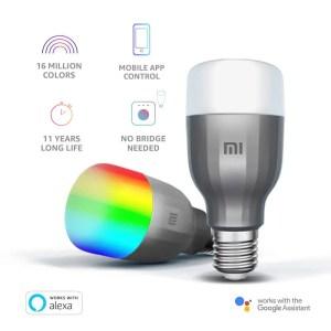 Powiedz, Ok Google..... Xiaomi Żarówka Mi LED Smart Bulb White & Color