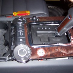 Vw Touareg Radio Wiring Diagram Golf Mk2 Horn Keyless Start Installation 5 Slowly Work Plastic And Wood Trim Off Of Center Console From Front To Back Do Not Bend Too Much Must Come Up As One Piece Be Patient