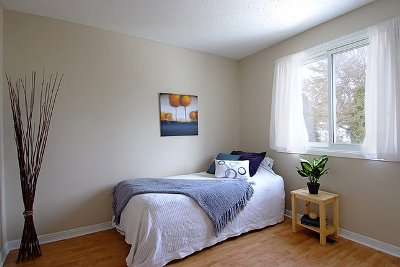 The second bedroom after the renovations