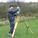 Leica Total Station (TCR1105) - Setting up the Instrument