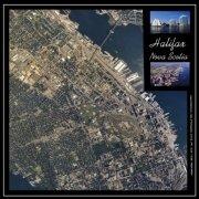 Seamless Aerial Photograph Mosaic of Halifax
