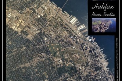 Seamless Aerial Photograph Mosaic of Halifax