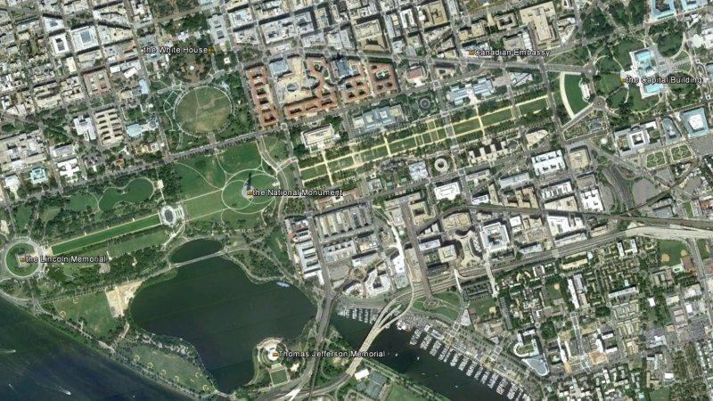 Washington DC - Air Photo