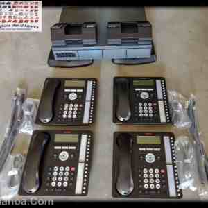 Avaya IP Office 500 V2 Phone System with 4 1416 Phones