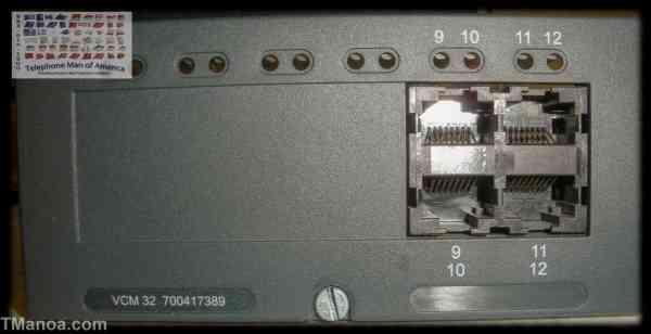 Avaya IP Office 500 V1 VCM 32 Base Card 700417389