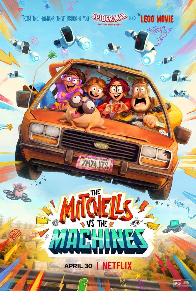 The Mitchells vs The Machines Movie