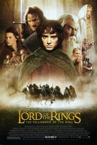Lord of the Rings The Fellowship of the Ring Movie Poster