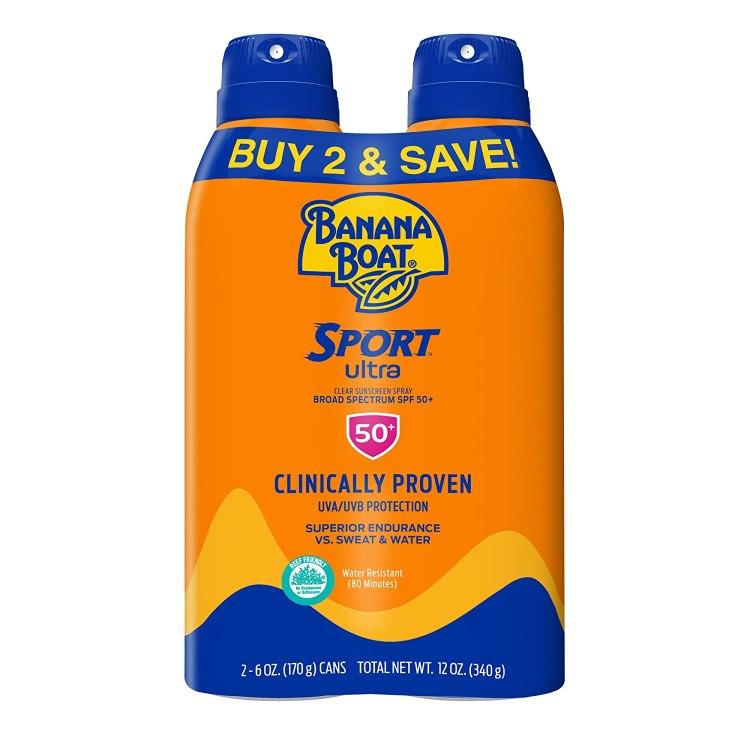 Banana Boat SPF 50 Sunscreen Summertime Product