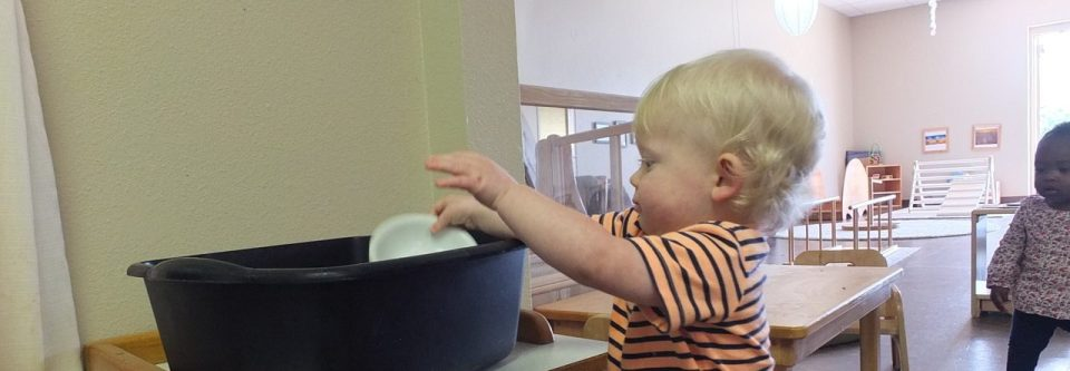 Infant Independence, Montessori Private School, Arlington TX