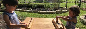 Early Childhood Outdoor Classroom, Montessori Private School, Arlington TX