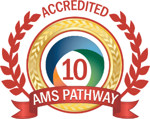 Private school fully accredited by the American Montessori Society, AMS Pathway 10