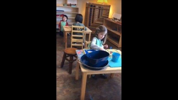 Early Childhood Work Cycle, Montessori Private School, Arlington TX