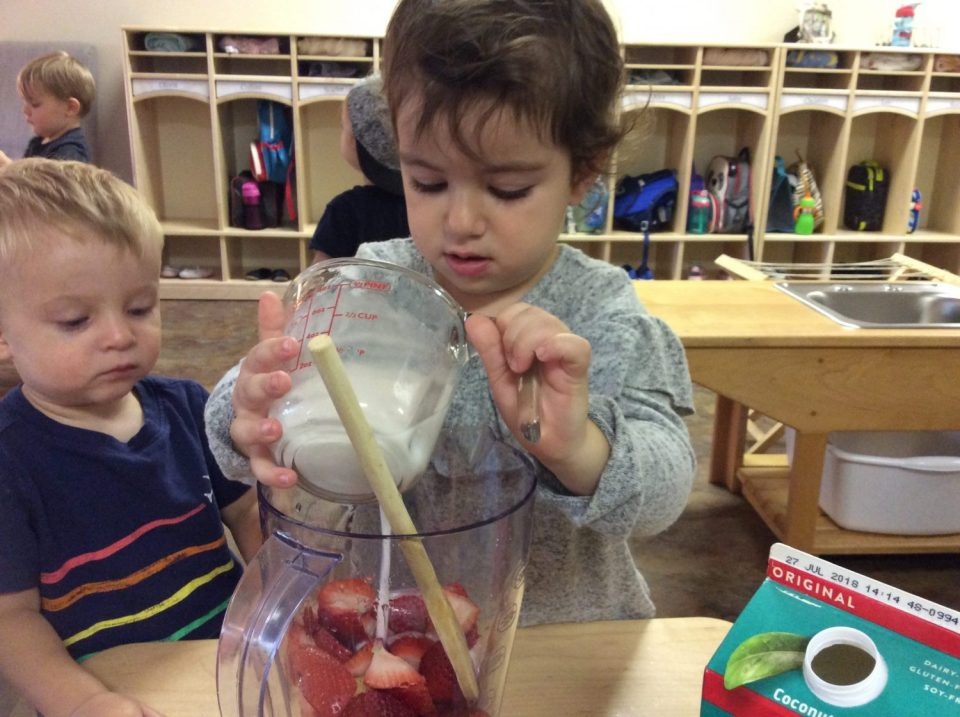 Toddler Cooking, Montessori Private School, Arlington TX