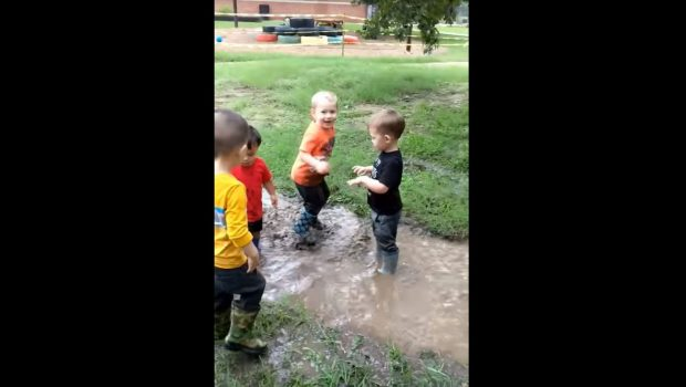 Toddlers Exploring the Natural World, Montessori Private School, Arlington TX