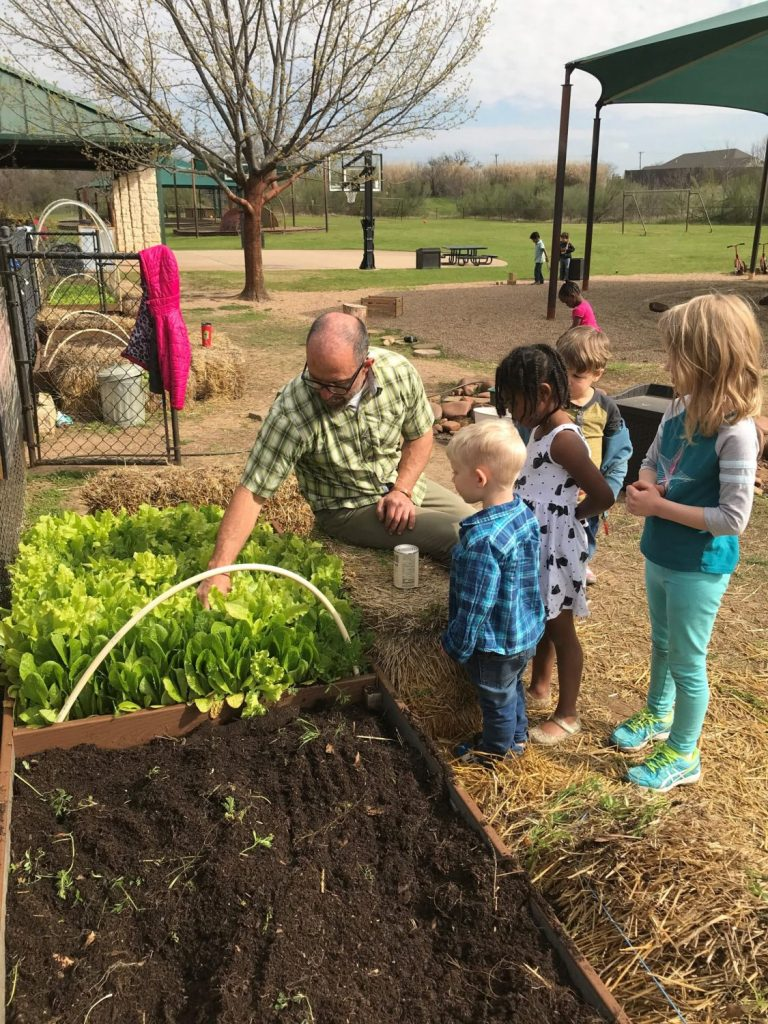 Gardening, The Montessori Academy of Arlington, Private School Arlington TX