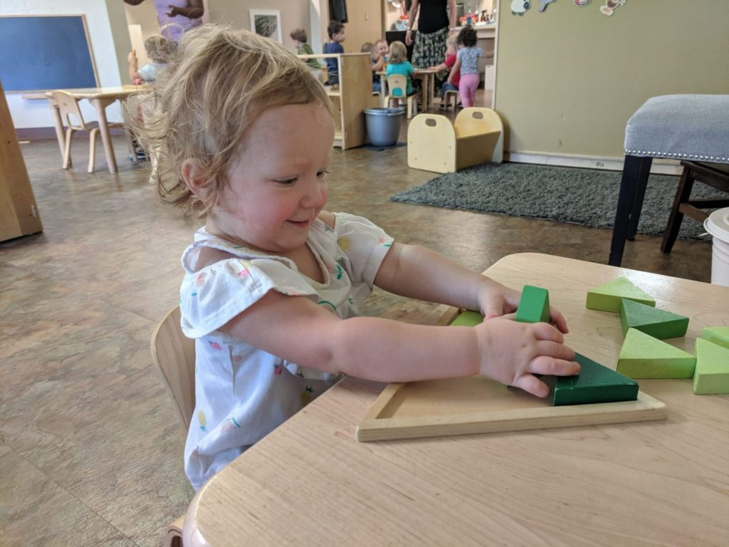 Toddler Triangle Puzzle