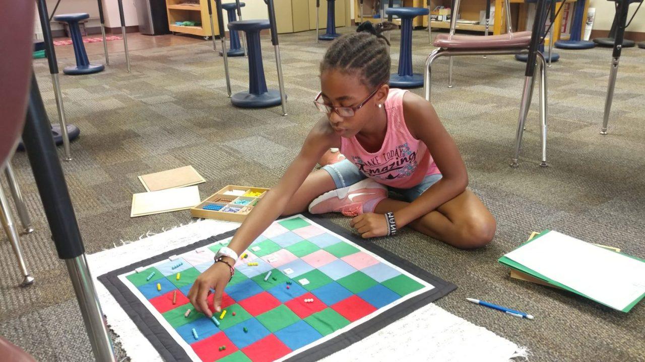 Upper Elementary Decimal Checkerboard
