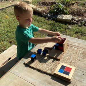 Early Childhood Binomial Cube