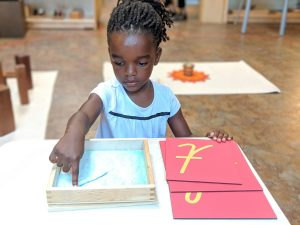 Early Childhood Sandpaper Letters