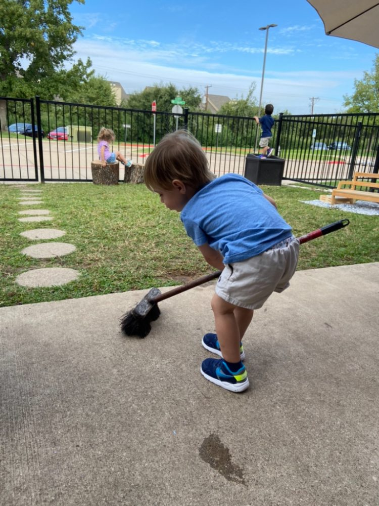 Toddler Care of Environment