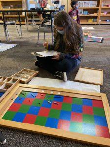 Lower Elementary Multiplication Checkerboard