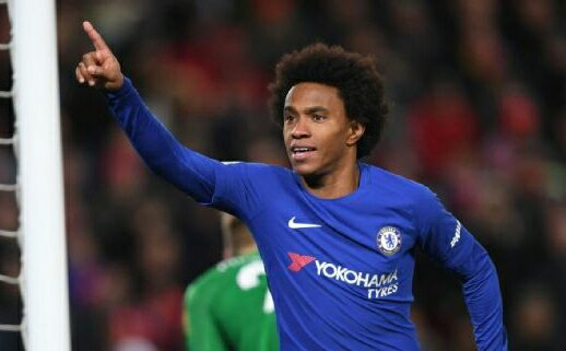 Hazard Finally Reveals What He Told Willian Before He Scored Against Barcelona