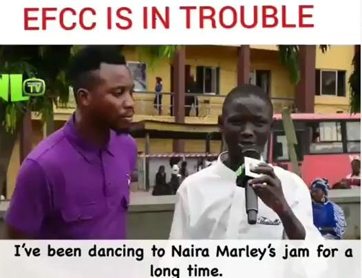 """VERY FUNNY!! See How This Marlian Sing And Spoil """"Am I A Yahoo Boy"""" On NLTV (Watch Video)"""