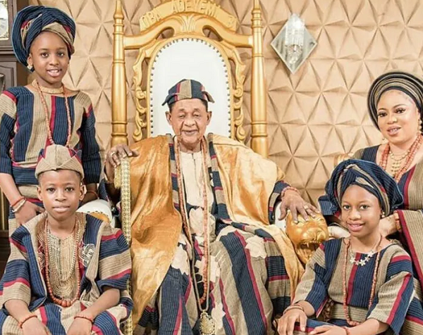 ALAAFIN OF OYO IS MORE ROMANTIC THAN MOST YOUNG MEN, WIFE SAYS