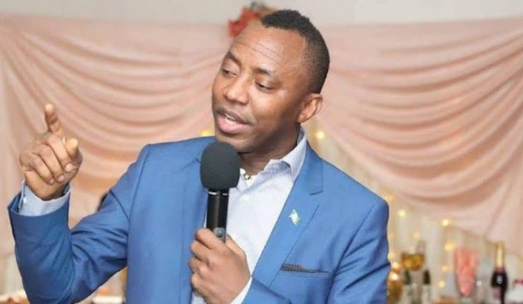 Omoyele Sowore Begs Burna Boy To Protest With Him Against Buhari On October 1