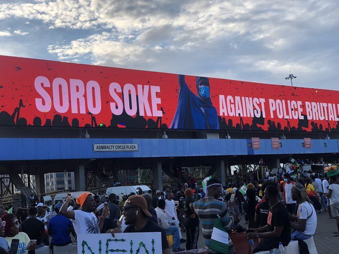 Seyi Tinubu's Advert Firm Explains – Lekki Tollgate Shooting: Billboard Was Switched Off Due To 24-Hour Curfew Imposed