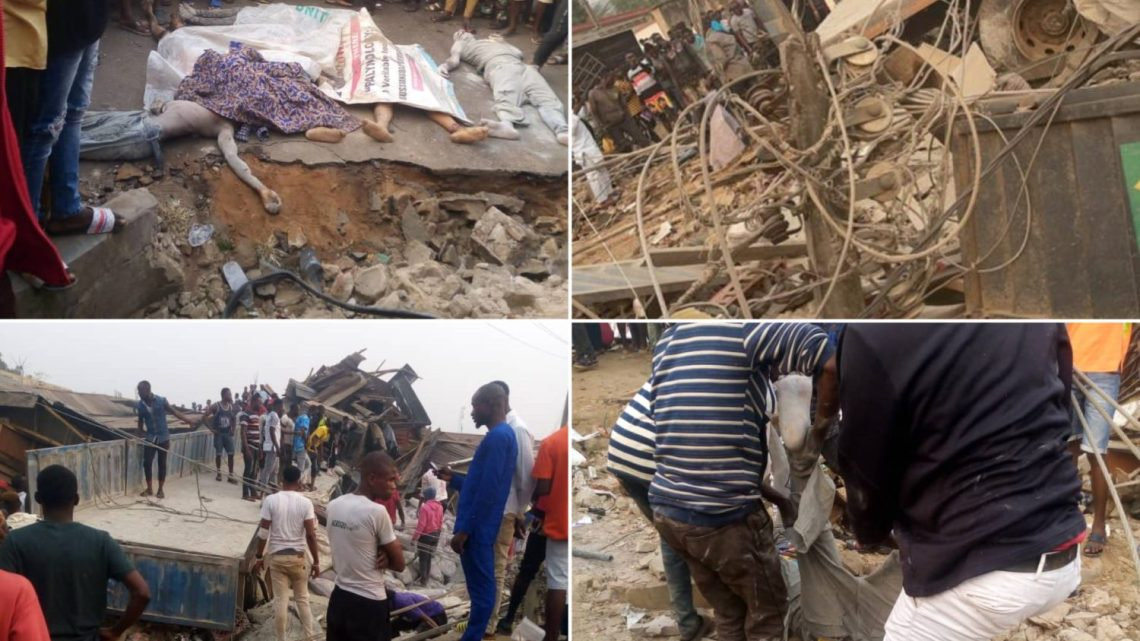 Just In: Cement Truck Crushes Students, Traders To Death In Akungba, Ondo (Graphic Photos/Videos)