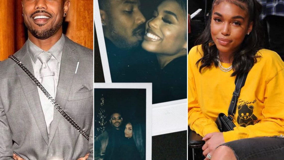 Actor, Michael B. Jordan And Model, Lori Harvey Confirm Their Relationship With Loved-Up Photos