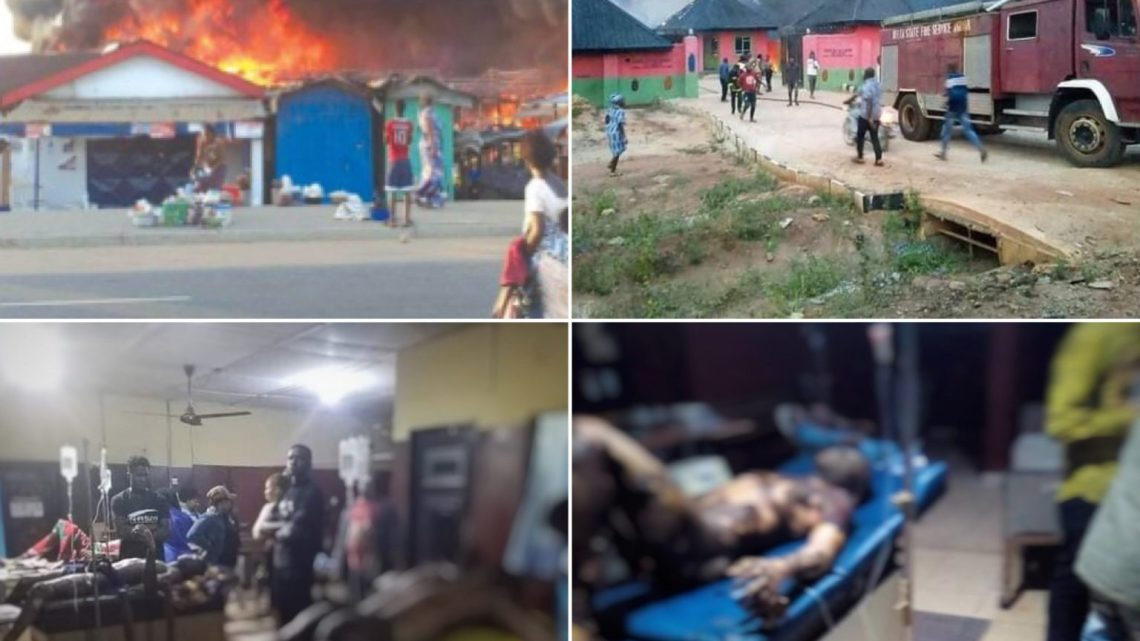 Many Feared Dead As Gas Plant Explodes In Delta (graphic videos/photos)