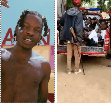How Naira Marley Reacts After School Children Were Arrested By Amotekun For Modelling Themselves As Him