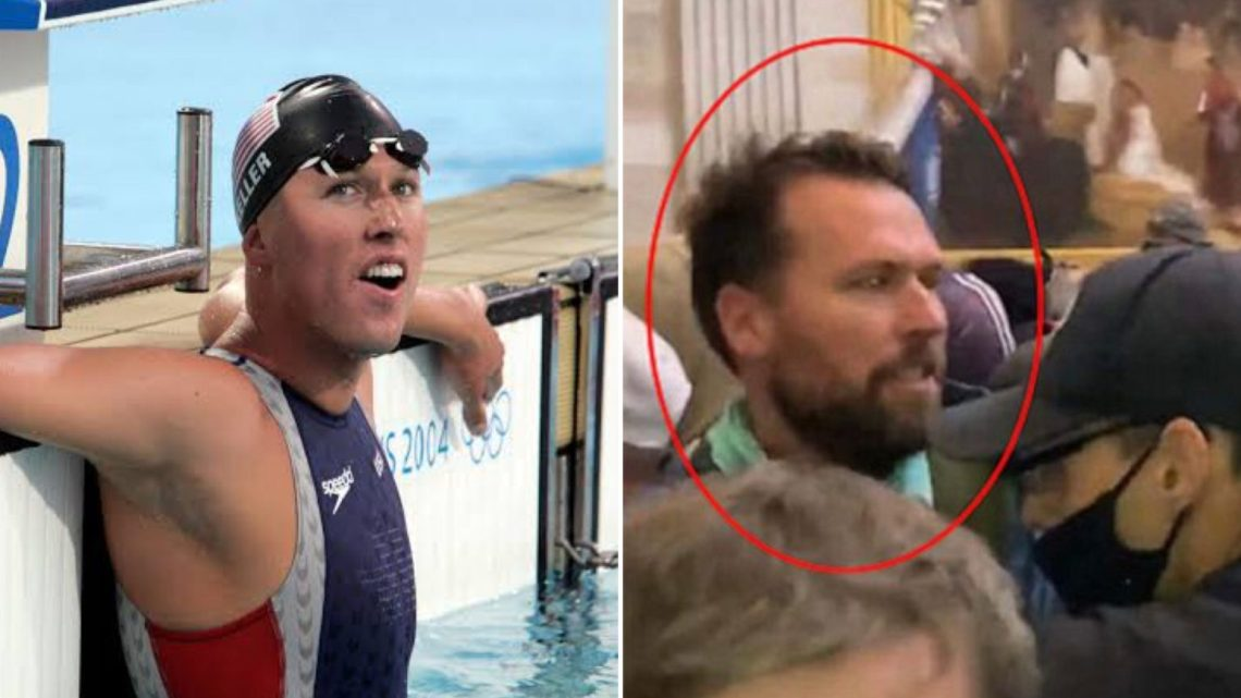 US Olympic Gold Medalist, Klete Keller Charged For Alleged Role In Capitol Riot