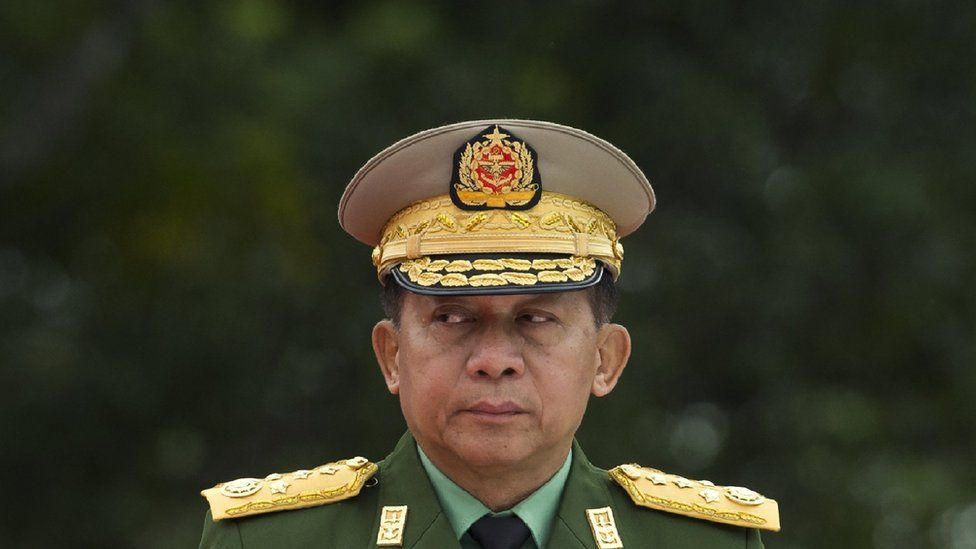 Myanmar: Coup leader Min Aung Hlaing vows to 'safeguard democracy