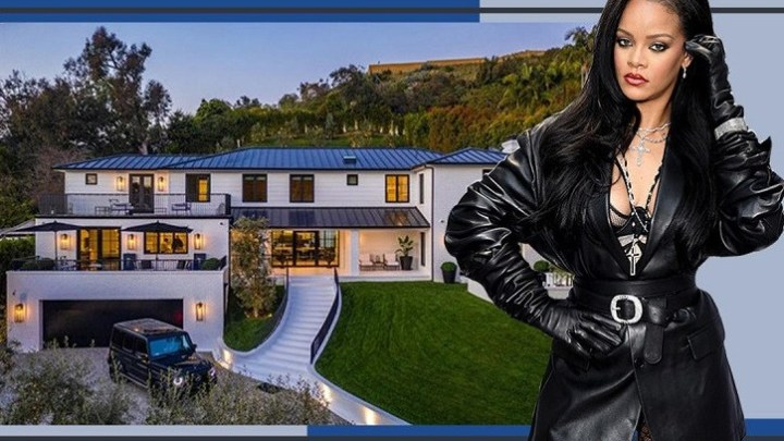 Rihanna Buys $13.8Million Mansion, See Inside The Beverly Hills Residence (Photos)