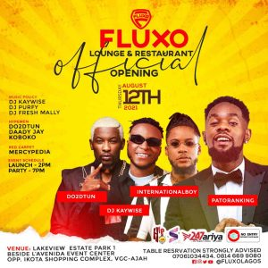 """This Thursday Is About to Get Lit As """"Fluxo"""" Luxury Restaurant, Outdoor Lounge And Nightlife Grand Opening"""""""