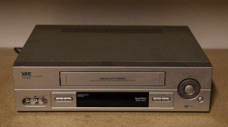 SEG VHS speler